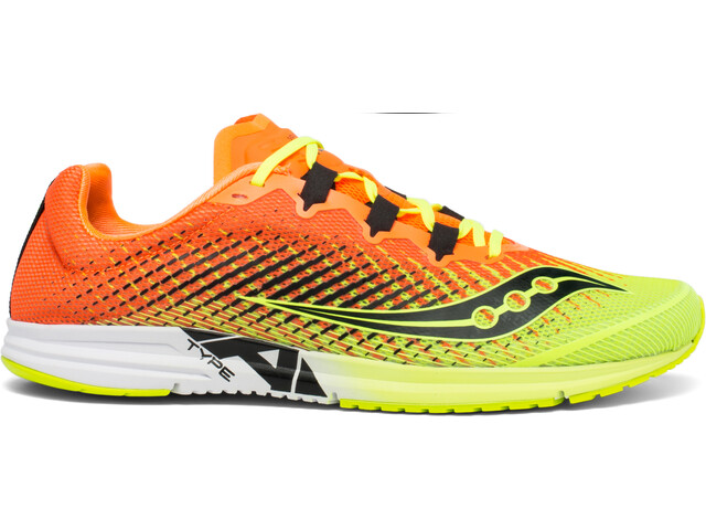 saucony Type A9 Shoes Men, citron/orange